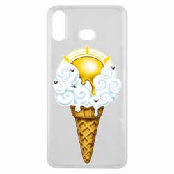 Чохол для Samsung A6s Sea ice cream