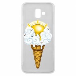 Чохол для Samsung J6 Plus 2018 Sea ice cream