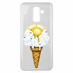 Чохол для Samsung J8 2018 Sea ice cream