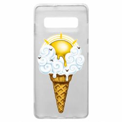Чохол для Samsung S10+ Sea ice cream