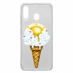 Чохол для Samsung A20 Sea ice cream