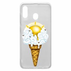 Чохол для Samsung A30 Sea ice cream