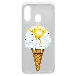 Чохол для Samsung A40 Sea ice cream