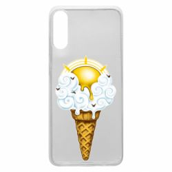 Чохол для Samsung A70 Sea ice cream