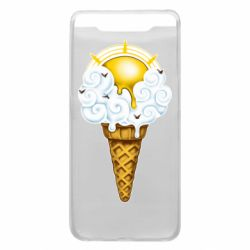 Чохол для Samsung A80 Sea ice cream