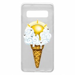 Чохол для Samsung S10 Sea ice cream