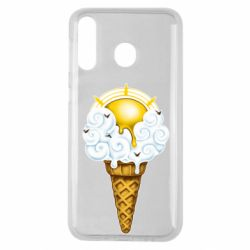Чохол для Samsung M30 Sea ice cream