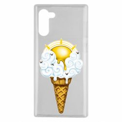 Чохол для Samsung Note 10 Sea ice cream