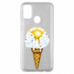 Чохол для Samsung M30s Sea ice cream