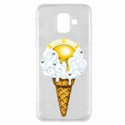 Чохол для Samsung A6 2018 Sea ice cream