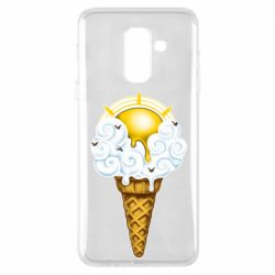 Чохол для Samsung A6+ 2018 Sea ice cream