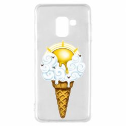 Чохол для Samsung A8 2018 Sea ice cream