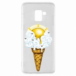 Чохол для Samsung A8+ 2018 Sea ice cream