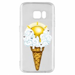 Чохол для Samsung S7 Sea ice cream