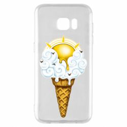 Чохол для Samsung S7 EDGE Sea ice cream