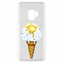 Чохол для Samsung S9 Sea ice cream