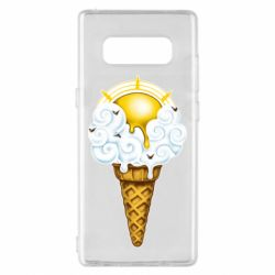 Чохол для Samsung Note 8 Sea ice cream