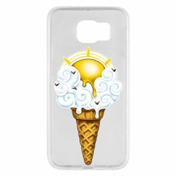 Чохол для Samsung S6 Sea ice cream