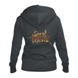 Жіноча толстовка на блискавці Sea of Thieves logo