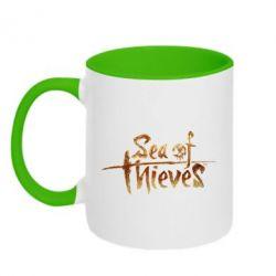 Кружка двоколірна 320ml Sea of Thieves logo