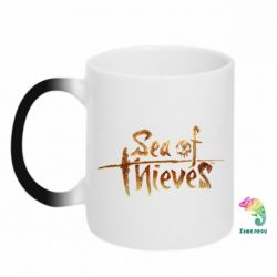 Кружка-хамелеон Sea of Thieves logo