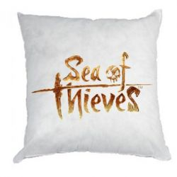Подушка Sea of Thieves logo