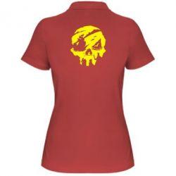 Жіноча футболка поло Sea of Thieves skull