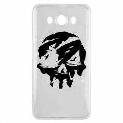 Чохол для Samsung J7 2016 Sea of Thieves skull