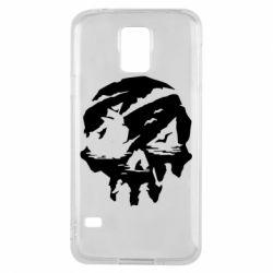 Чохол для Samsung S5 Sea of Thieves skull