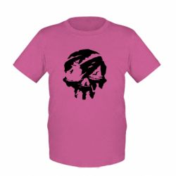 Дитяча футболка Sea of Thieves skull