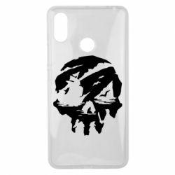Чехол для Xiaomi Mi Max 3 Sea of Thieves skull
