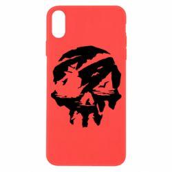Чохол для iPhone X/Xs Sea of Thieves skull
