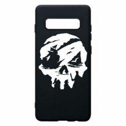 Чохол для Samsung S10+ Sea of Thieves skull