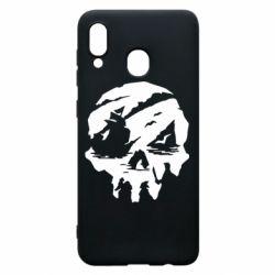 Чохол для Samsung A20 Sea of Thieves skull