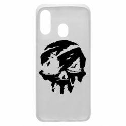 Чохол для Samsung A40 Sea of Thieves skull