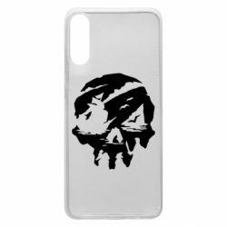 Чохол для Samsung A70 Sea of Thieves skull