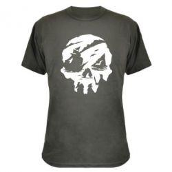 Камуфляжна футболка Sea of Thieves skull