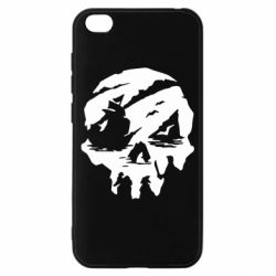 Чехол для Xiaomi Redmi Go Sea of Thieves skull