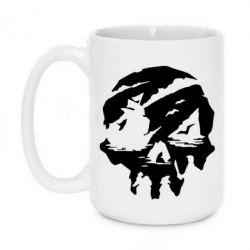 Кружка 420ml Sea of Thieves skull