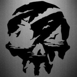 Наклейка Sea of Thieves skull