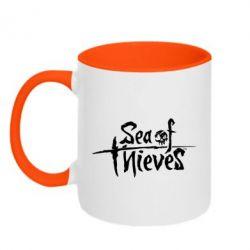Кружка двоколірна 320ml Sea of Thieves