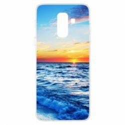 Купить Лето, Чехол для Samsung A6+ 2018 Sea, FatLine