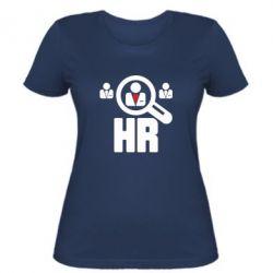 Женская футболка Search HR