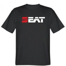 Мужская футболка Seat Motors - FatLine