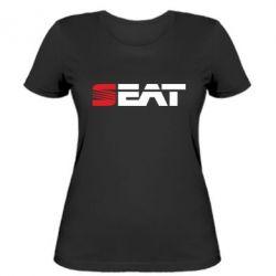 Женская футболка Seat Motors - FatLine