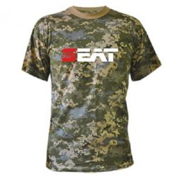 Камуфляжная футболка Seat Motors