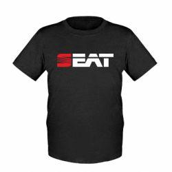 Детская футболка Seat Motors - FatLine