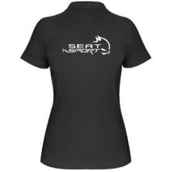 Женская футболка поло SEAT SPORT