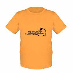 Детская футболка SEAT SPORT