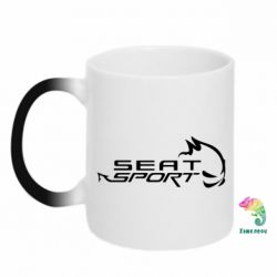 Кружка-хамелеон SEAT SPORT